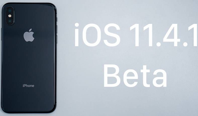 iOS 11.4.1 beta 4 iphone ipad