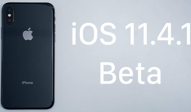 iOS 11.4.1 beta 4 iphone ipad