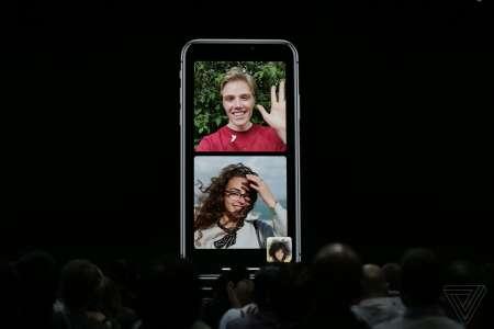 iOS 12 FaceTime apel video gruo
