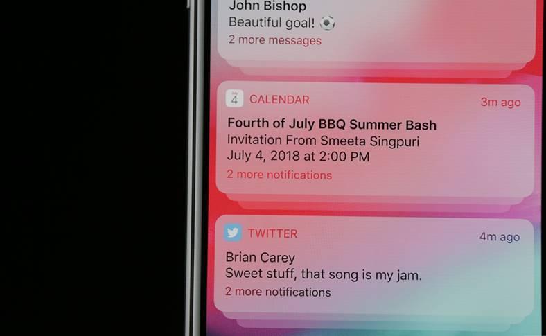 iOS 12 Grupeaza Notificarile iPhone iPad