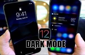 iOS 12 Noul DARK MODE