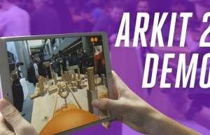 iOS 12 Realitatea Augmentata Distractiva
