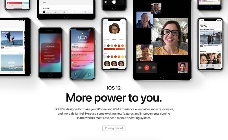 iOS 12 functie majora iPad