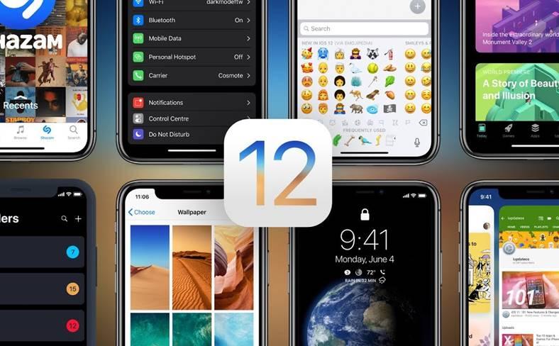 iOS 12 iPhone iPad MULT Sigure