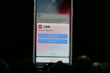 iOS 12 notificari separate