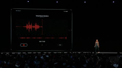 iOS 12 voice memos