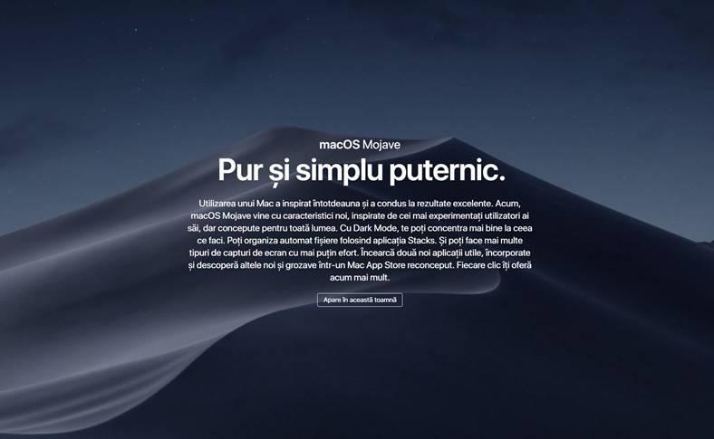 macOS Mojave Public Beta 1