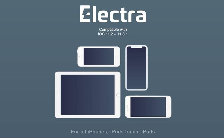 Electra iOS 11.2 - iOS 11.3.1 Jailbreak Update 350397