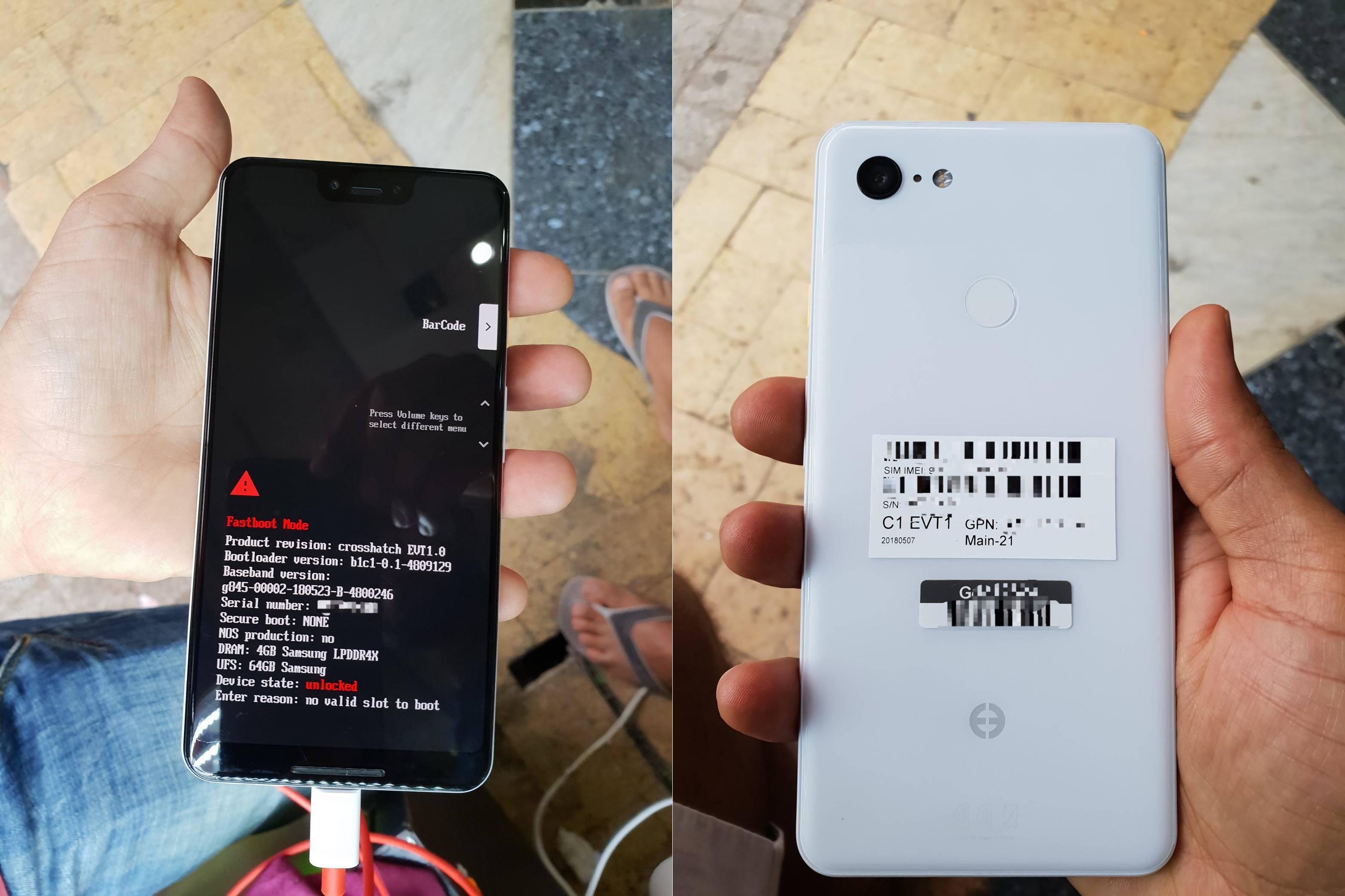 Google Pixel 3 XL Imagini UNITATE REALA 1