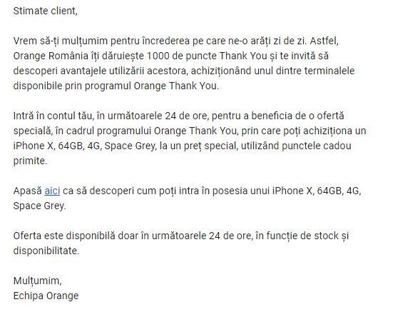 Orange ATENTIE TEAPA iPhone X 2