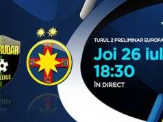 RUDAR - FCSB LIVE PRIMA TV Europa League
