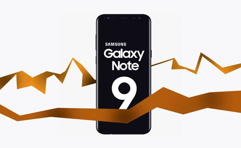 Samsung GALAXY Note 9 Clipul Internetul JAR 351293