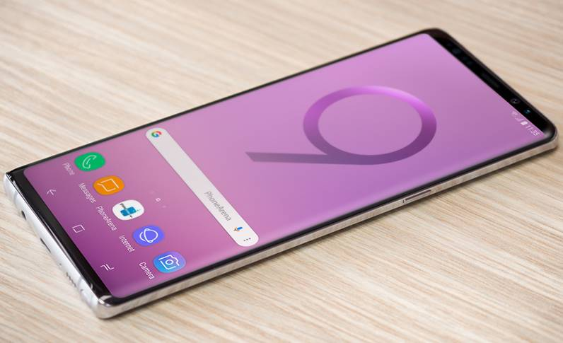 Samsung GALAXY Note 9 Data LANSARE CADOURILE