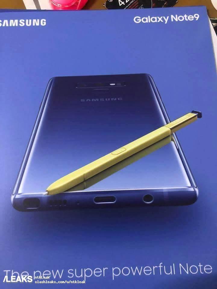 Samsung GALAXY Note 9 PRIMUL POSTER NOUTATILE 350789 1