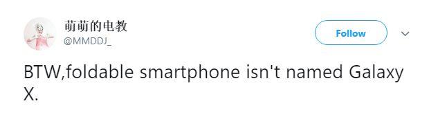 Samsung GALAXY X Denumirea Telefon 1
