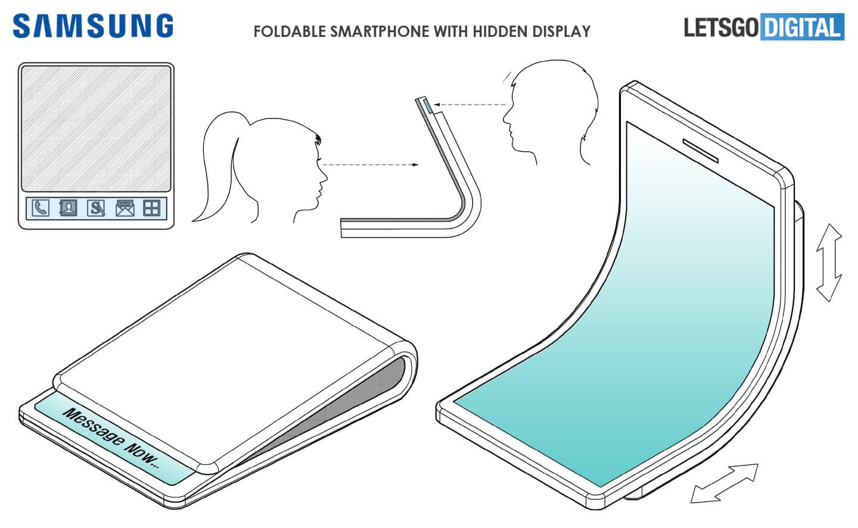 Samsung GALAXY X Ecranul ASCUNS Telefon Pliabil 1