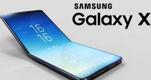 Samsung GALAXY X Ecranul ASCUNS Telefon Pliabil