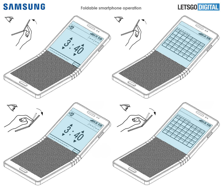 Samsung GALAXY X Functii Telefonul Pliabil 351205 1