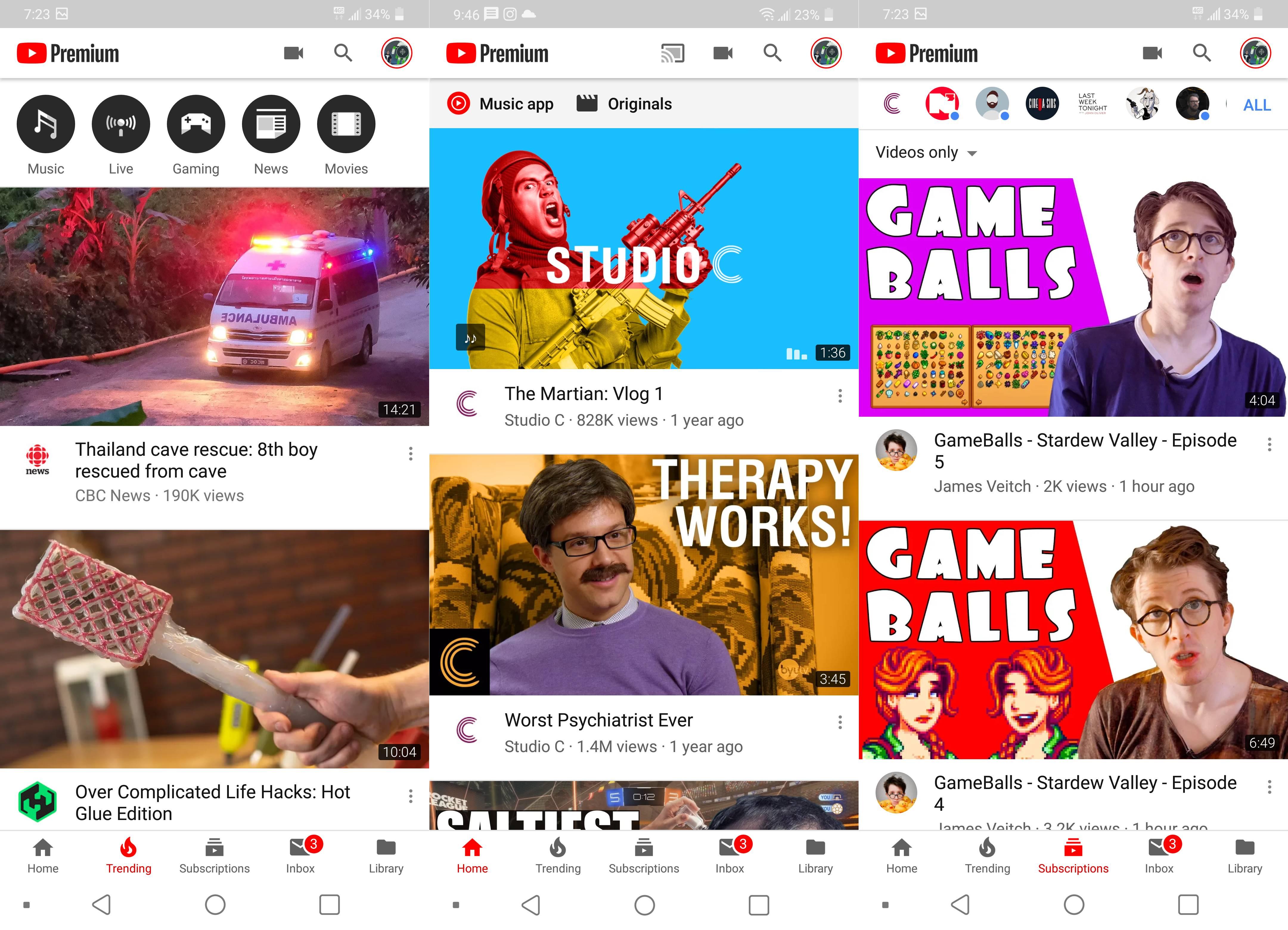 YouTube Schimbarile Aplicatiile Telefoanelor 350712 1