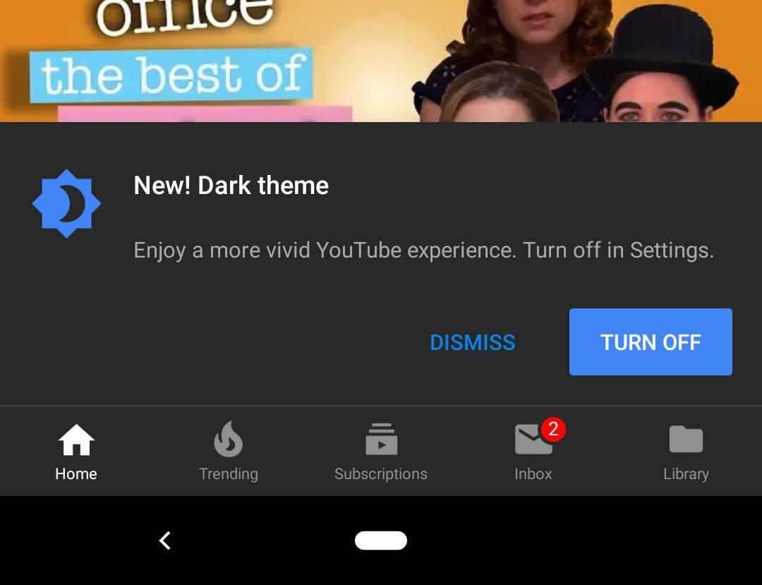 Youtube LANSAT Android TARE Functie 2018 1