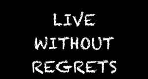live without regrets wallpaper