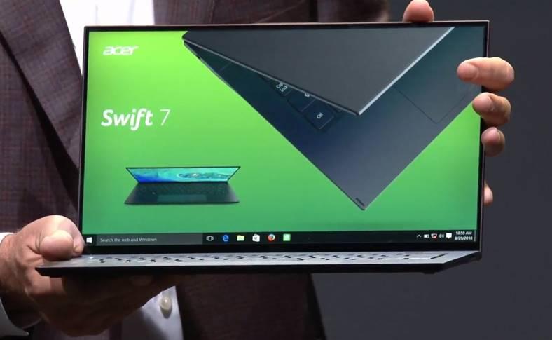 Acer Swift 7 SUBTIRE Laptop
