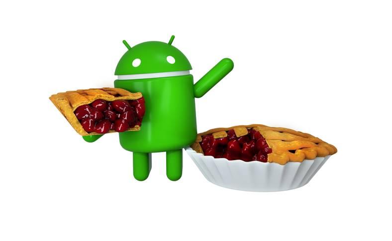 Android 9 Pie LANSAT Google