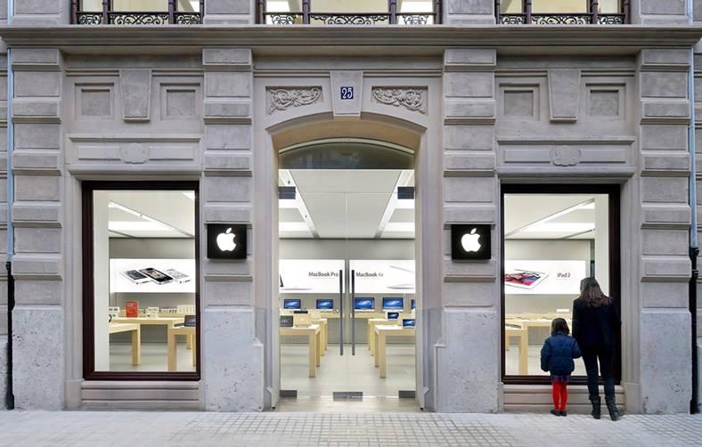 Apple Store INCHIS Cutii DROGURI