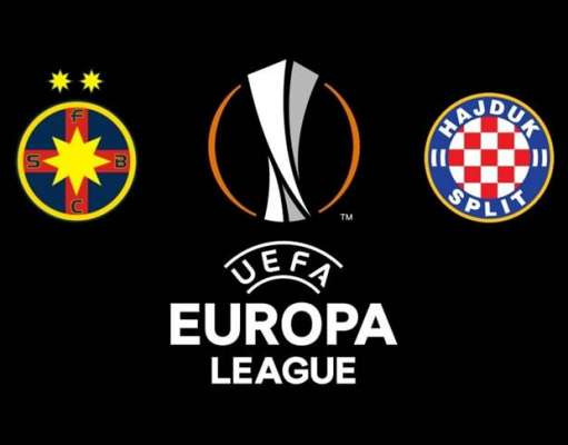 FCSB - HAJDUK SPLIT LIVE PRO TV EUROPA LEAGUE