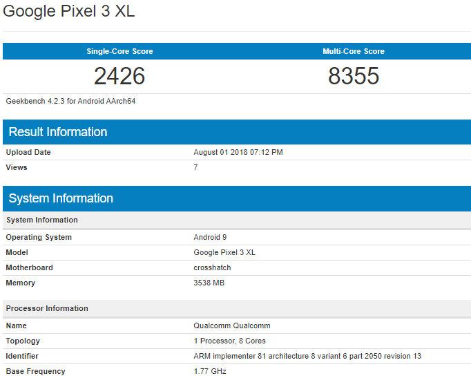 Google Pixel 3 XL MARE DEZAMAGIRE 1