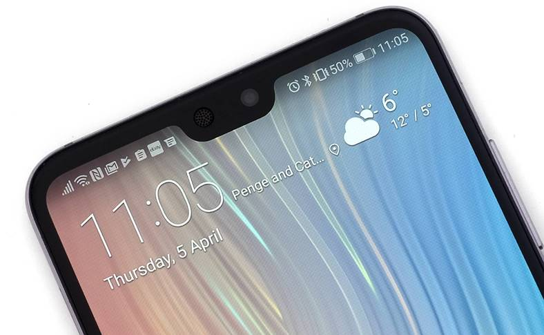 Huawei MATE 20 COPIA Functia iPhone X