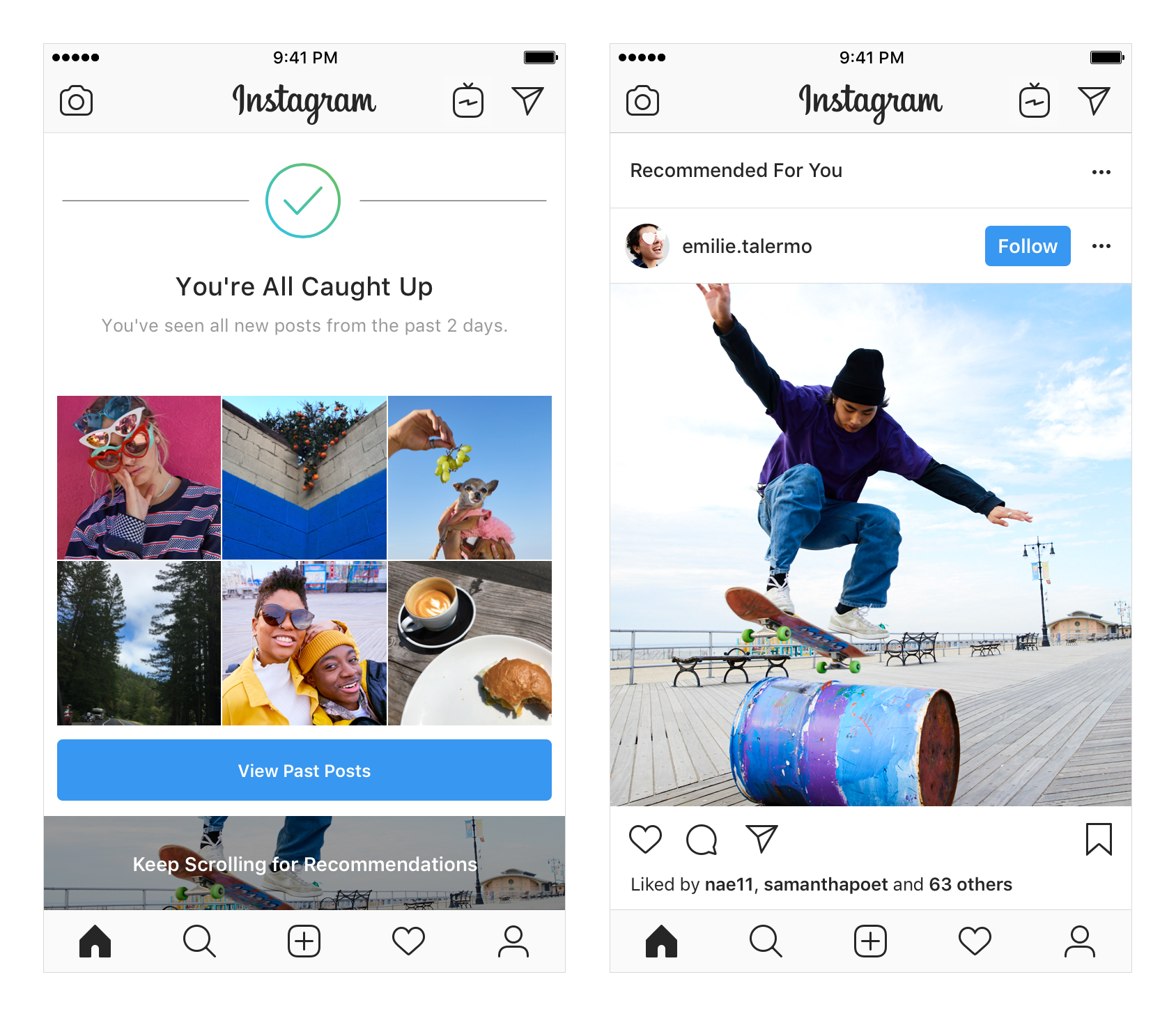 Instagram Functie NOUA iPhone Android 1