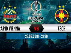 RAPID VIENA - FCSB PRO TV LIVE EUROPA LEAGUE