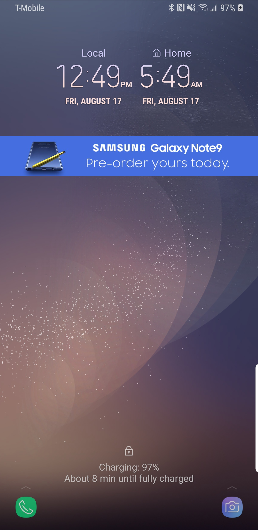 Samsung GALAXY Note 9 BAGAT Gat Clienti 1