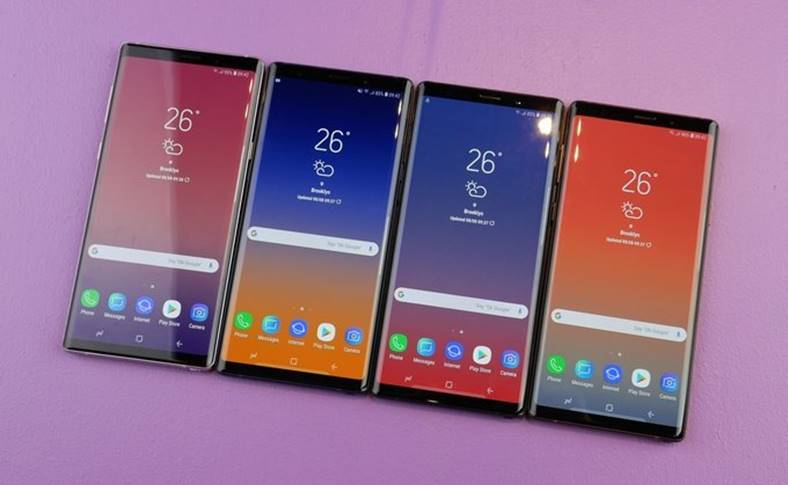 Samsung GALAXY Note 9 BAGAT Hole Customers