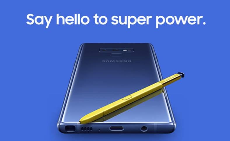 Samsung GALAXY Note 9 EFORTURI Vanzari
