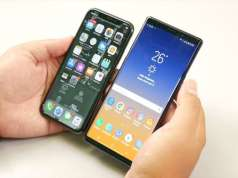 Samsung GALAXY Note 9 UMILESTE iPhone X Performante