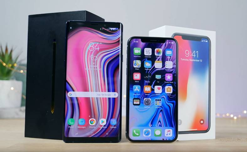 Samsung GALAXY Note 9 UMILIT Performante iPhone X