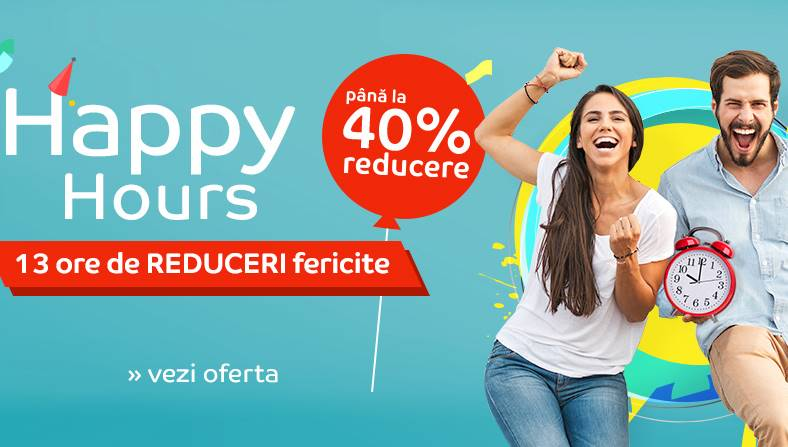 eMAG Reduceri EXCLUSIVE ULTIMELE ORE Happy Hours