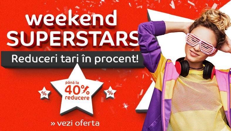 eMAG Reduceri SPECIALE Weekend Superstars