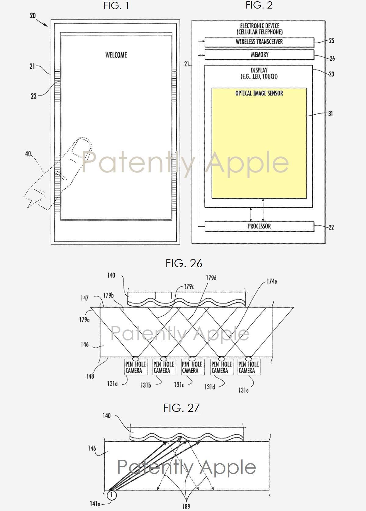 iPhone Apple Cititoare Amprente Ecran 1