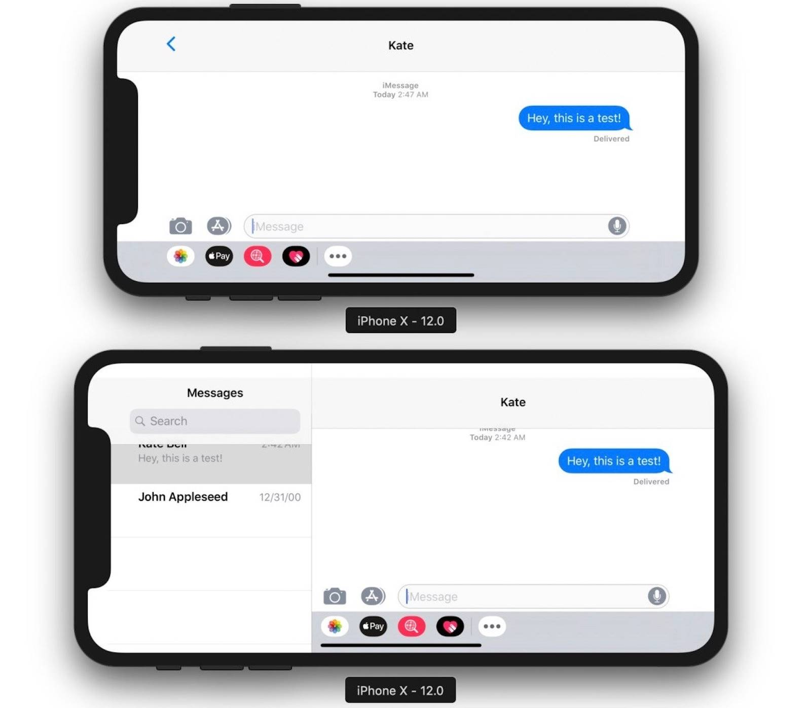 iPhone X Plus Functia CONFIRMATA iOS 12 1