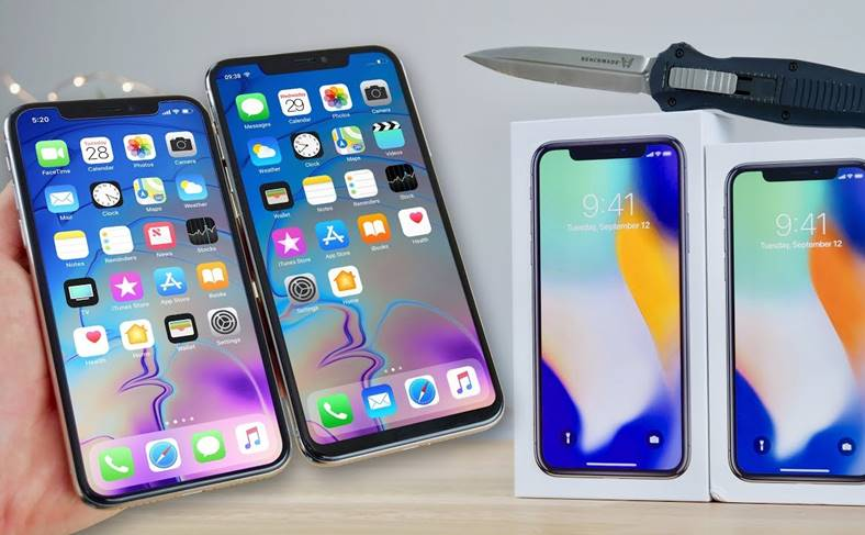 iPhone X Plus Hands-On VIDEO Prima CLONA
