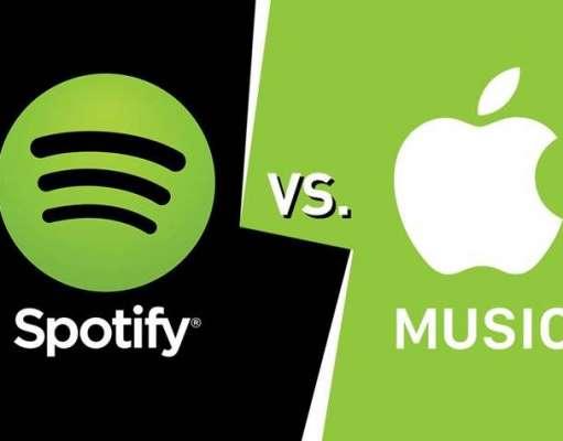 Apple Music INTRECUT Spotify