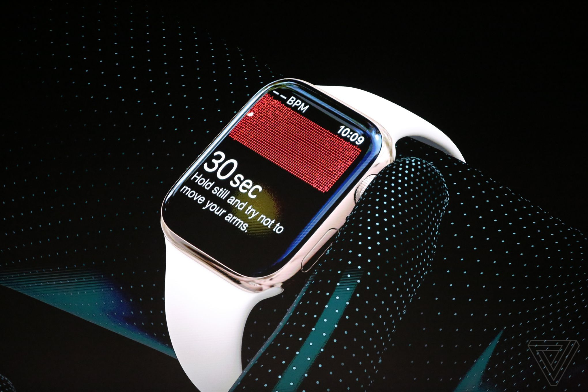 Apple Watch 4 electrocardiograma