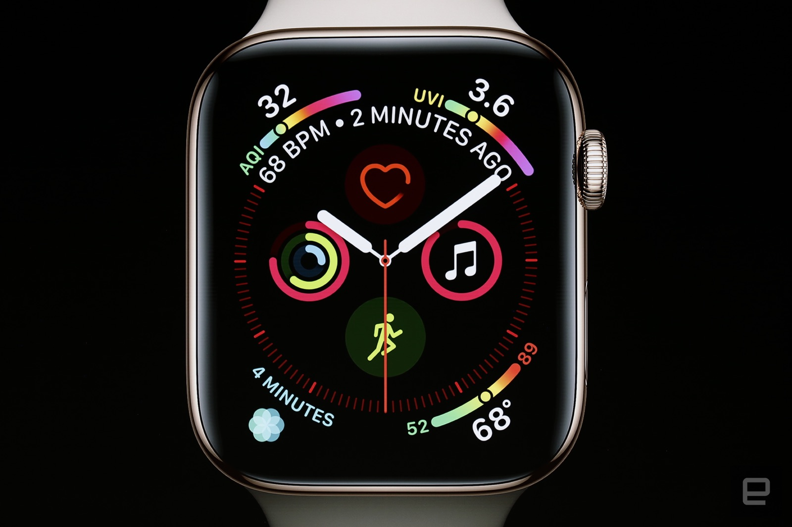 Apple Watch 4 fete