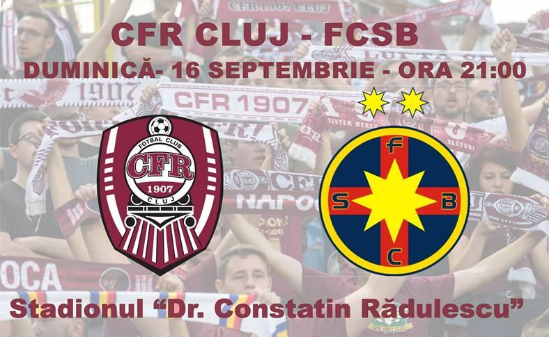 CFR CLUJ - FCSB DIGI SPORT LIVE Liga 1