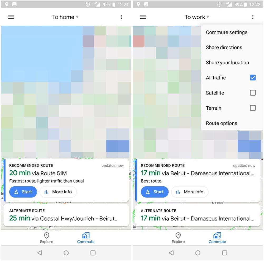 Google Maps Schimbare MAJORA iPhone Android 1