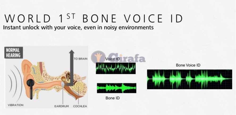 Huawei MATE 20 Pro voice id 1