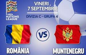 ROMANIA - MUNTENEGRU LIVE PRO TV LIGA NATIUNILOR